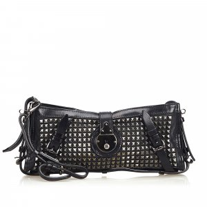 Burberry Leather Hyde Clutch Bag
