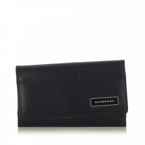 Burberry Leather Key Holder