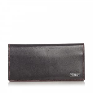Burberry Leather Long Wallet