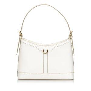 Burberry Shoulder Bag white leather