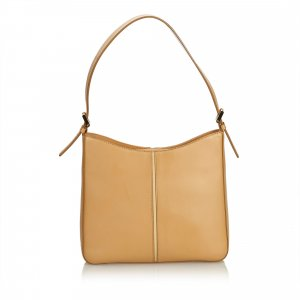 Burberry Shoulder Bag light brown leather