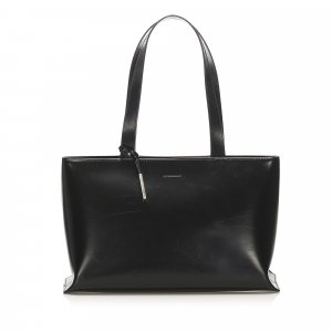 Burberry Borsa larga nero Pelle
