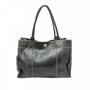 Burberry Tote black leather