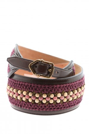 Burberry Leather Belt lilac casual look