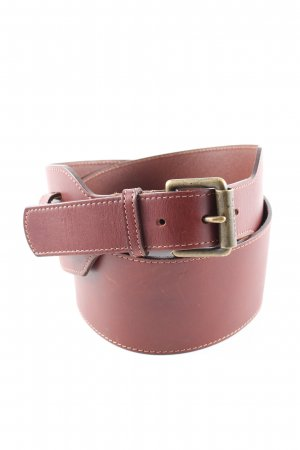 Burberry Leather Belt brown business style