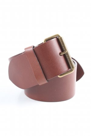 Burberry Leather Belt brown-bronze-colored casual look