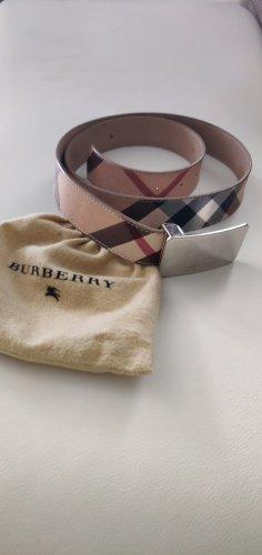 Burberry Boucle de ceinture marron clair-cognac