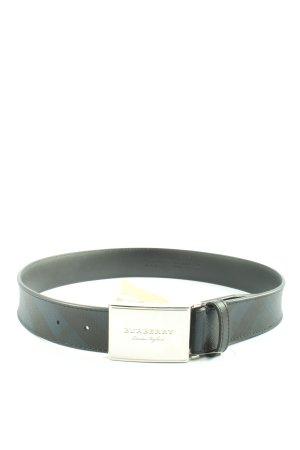 Burberry Cintura in ecopelle nero elegante