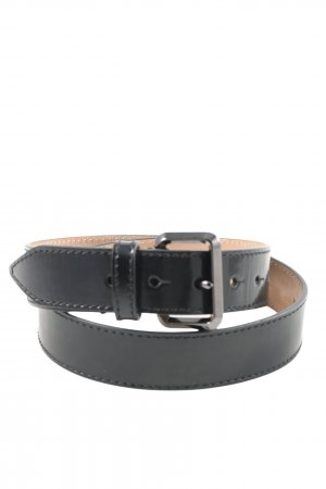 Burberry Cintura in ecopelle nero stile casual