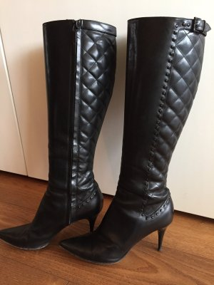 Burberry High Heel Boots black