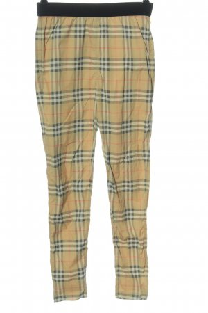 Burberry Legginsy Wzór w kratkę W stylu casual