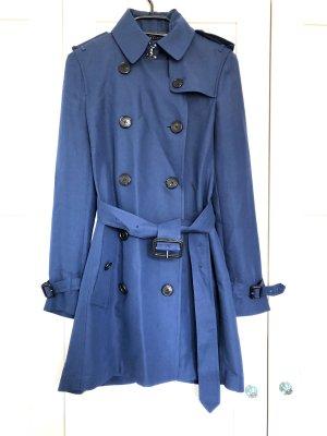 Burberry London Trench Coat blue silk