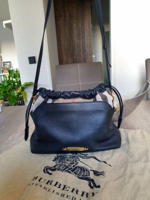 Burberry Little Crush Crossbody Bag Leder schwarz House Check