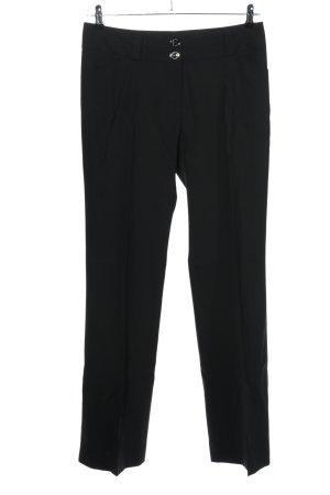 Burberry London Pantalon de costume noir style décontracté