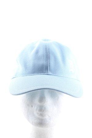 Burberry London Baseball Cap blue printed lettering casual look