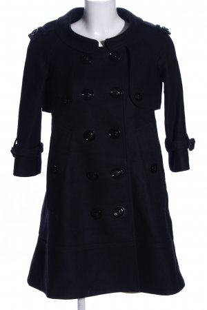 Burberry London Cabanmantel schwarz Casual-Look