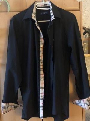 Burberry London Chemise à manches longues noir