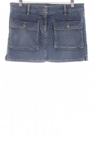 Burberry London Denim Skirt blue casual look
