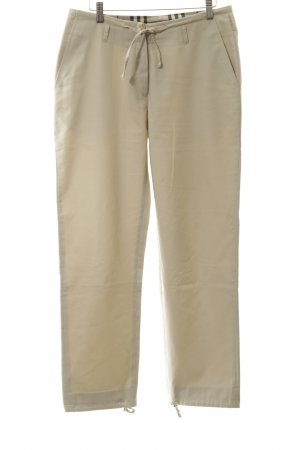Burberry London Karottenhose creme Casual-Look