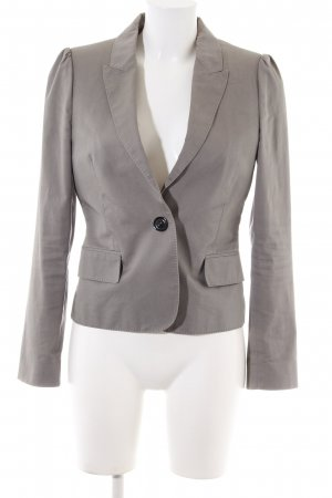 Burberry London Short Blazer light grey business style