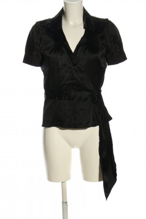 Burberry London Short Sleeved Blouse black casual look