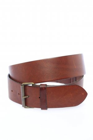 Burberry London Ceinture en cuir brun style d'affaires