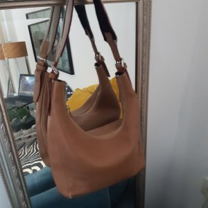 Burberry Shoulder Bag cognac-coloured