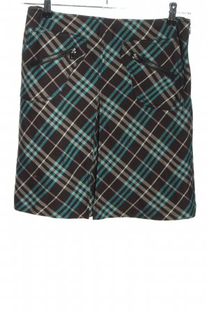 Burberry London Mini rok geruite print casual uitstraling