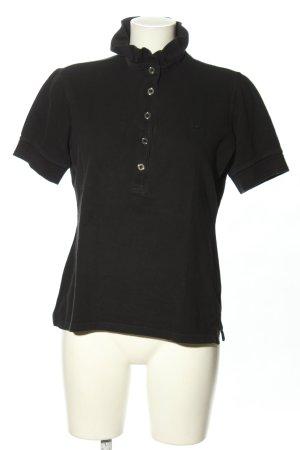 Burberry London Koszulka polo czarny W stylu casual