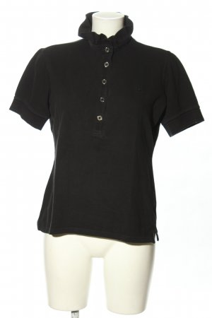 Burberry London Polo-Shirt schwarz Casual-Look