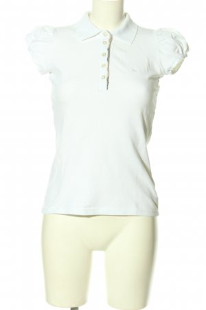 Burberry London Polo Shirt white casual look