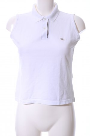 Burberry London Polo Top white casual look