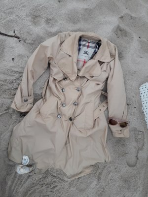 Burberry London Trench Coat silver-colored-sand brown
