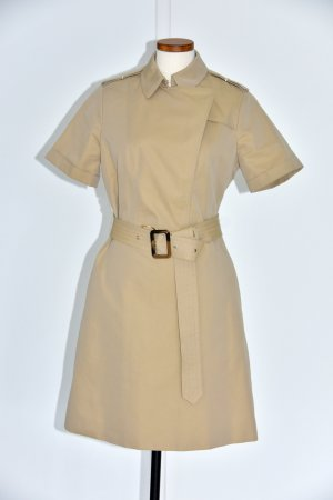 Burberry London Coat Dress sand brown cotton