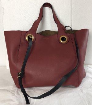 Burberry London, Shopper/Backpack, rot, Leder, neu, € 1.800,-