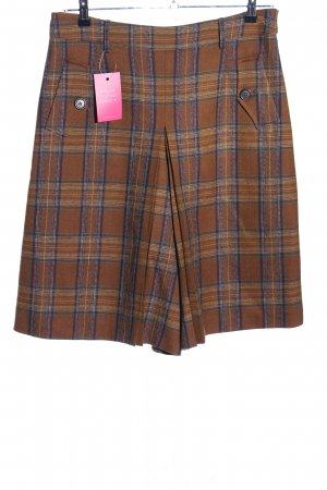 Burberry London Skorts braun Allover-Druck Casual-Look
