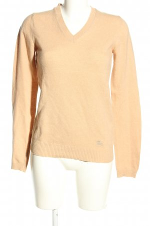Burberry London Knitted Sweater cream casual look