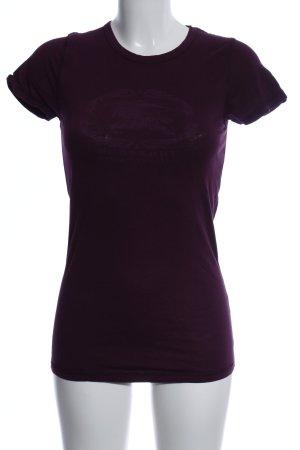 Burberry London T-Shirt lila Casual-Look