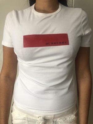 Burberry (London)   T-Shirt   Größe M   weiß