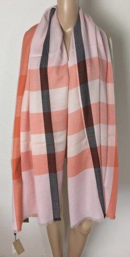Burberry London, Tuch, orange-rosa, Cashmere, neu, € 850,-