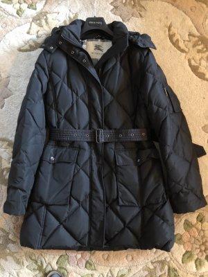Burberry London Cappotto con cappuccio nero
