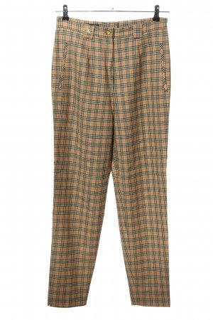 Burberry London Woolen Trousers check pattern casual look
