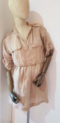 Burberry Brit Abito a maniche corte beige-color cammello