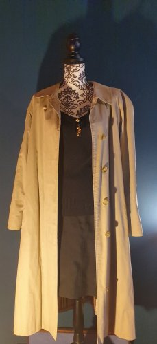 Burberry Robe manteau brun sable