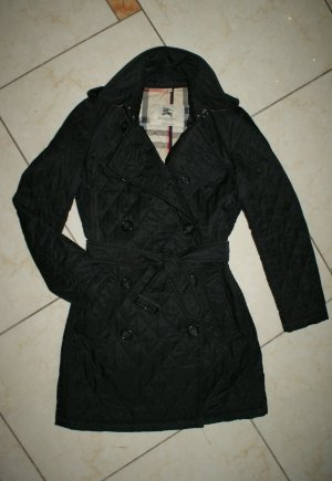 Burberry Quilted Coat black-gold-colored
