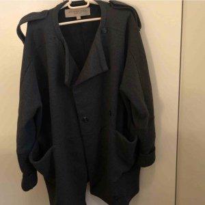 Burberry Oversized jas zwart