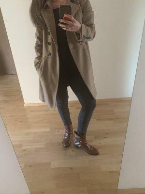 Burberry Manteau en laine beige-chameau