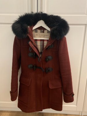 Burberry Hooded Coat bordeaux-carmine