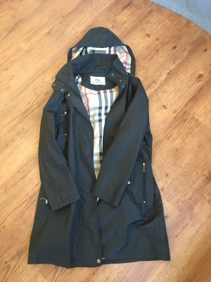Burberry Hooded Coat multicolored