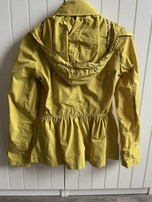 Burberry Between-Seasons-Coat yellow